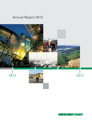 HeidelbergCement annual report 2012
