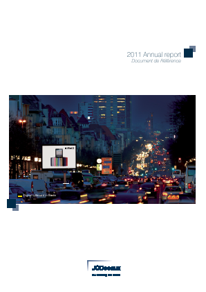 JCDecaux annual report 2011
