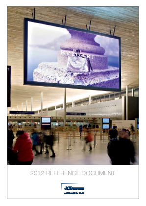 JCDecaux annual report 2012