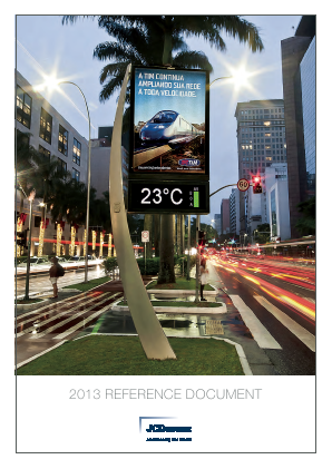JCDecaux annual report 2013