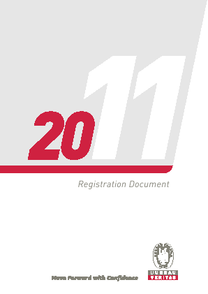 Bureau Veritas International annual report 2011