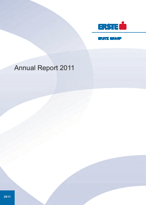 Erste Group Bank annual report 2011
