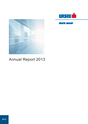 Erste Group Bank annual report 2013