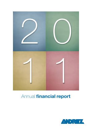 Andritz annual report 2011