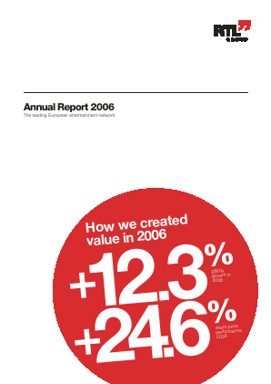 RTL Group annual report 2006