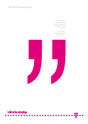 Deutsche Telekom annual report 2010