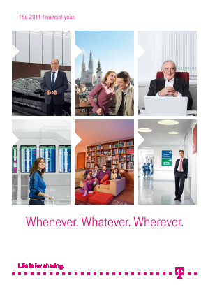 Deutsche Telekom annual report 2011