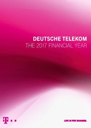 Deutsche Telekom annual report 2017