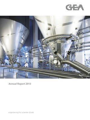 Gea Group annual report 2013