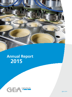 Gea Group annual report 2015