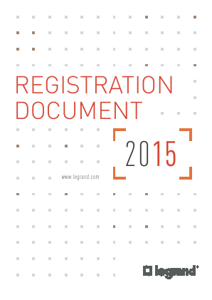 Legrand annual report 2015