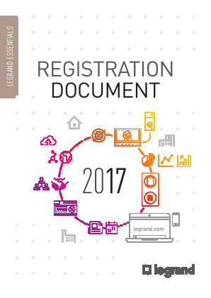Legrand annual report 2017
