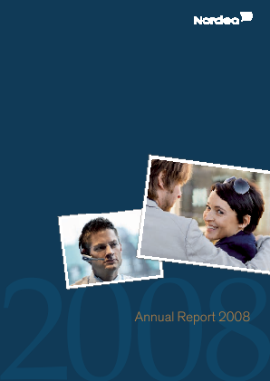 Nordea Bank annual report 2008
