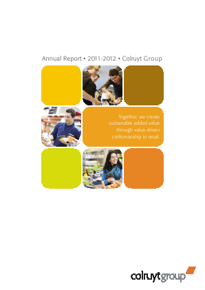 Colruyt annual report 2012