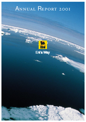 Eni annual report 2001