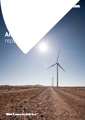 Vestas Wind Systems annual report 2011