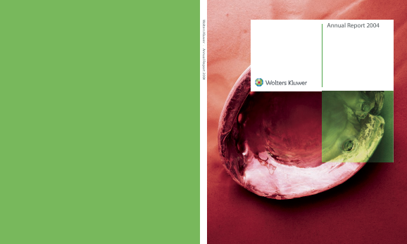 Wolters Kluwer annual report 2004