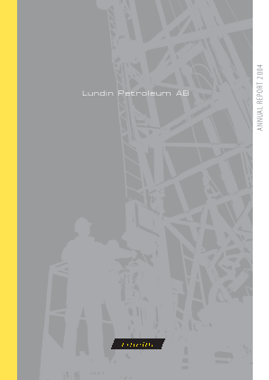 Lundin Petroleum annual report 2004