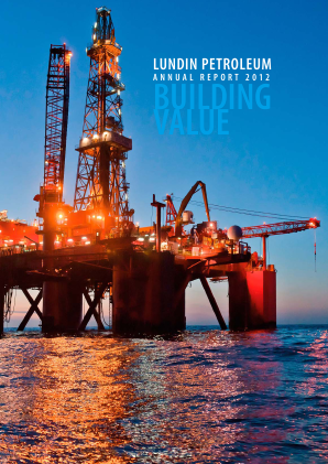 Lundin Petroleum annual report 2012