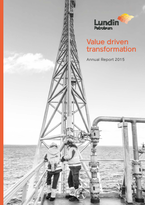 Lundin Petroleum annual report 2015