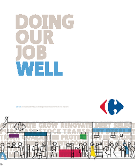 Carrefour annual report 2014
