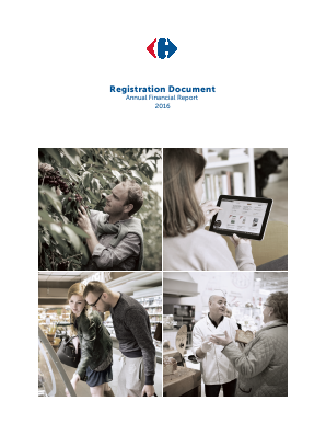 Carrefour annual report 2016