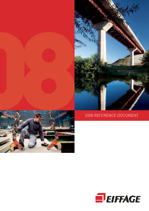 Eiffage annual report 2008