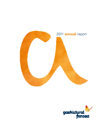 Gas Natural annual report 2011