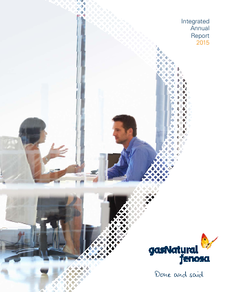 Gas Natural annual report 2015
