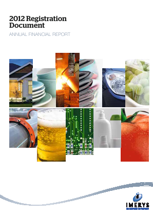 Imerys annual report 2012