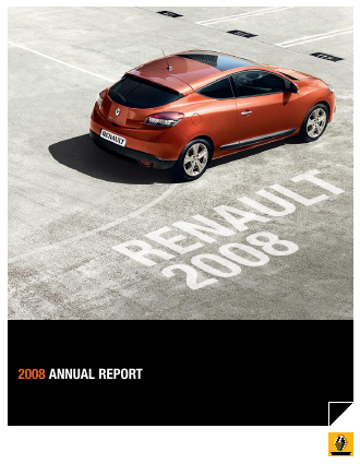 Renault annual report 2008