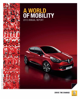 Renault annual report 2012