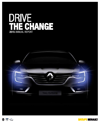 Renault annual report 2015