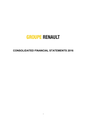 Renault annual report 2016