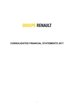 Renault annual report 2017