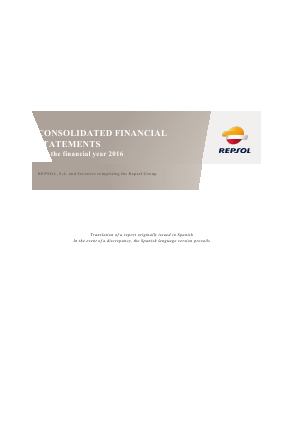 Repsol annual report 2016