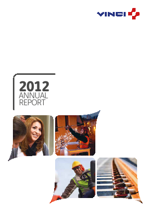 Vinci annual report 2012