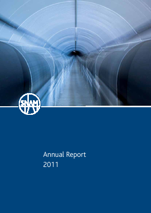 SNAM annual report 2011