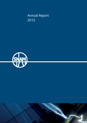 SNAM annual report 2012