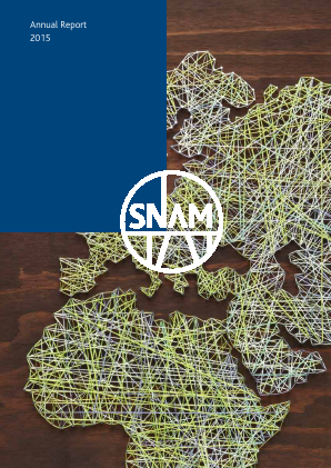 SNAM annual report 2015