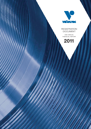 Vallourec annual report 2011