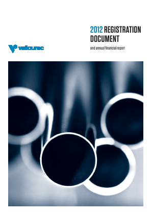 Vallourec annual report 2012