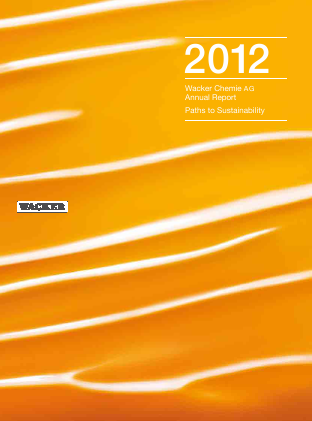 Wacker Chemie annual report 2012