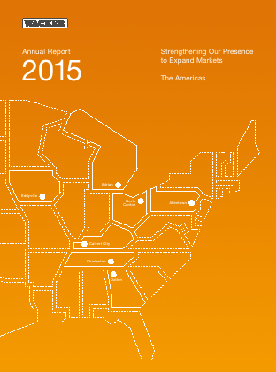 Wacker Chemie annual report 2015