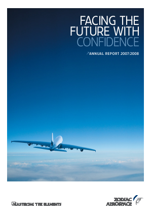 Zodiac Aerospace annual report 2008
