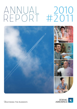 Zodiac Aerospace annual report 2011