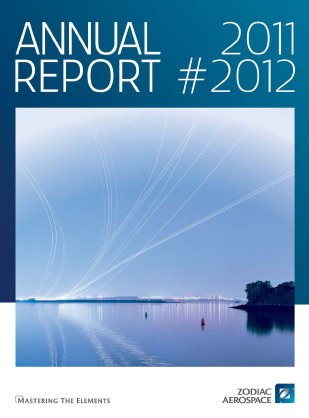 Zodiac Aerospace annual report 2012