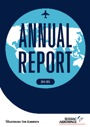 Zodiac Aerospace annual report 2015