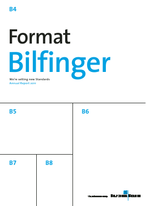 Bilfinger annual report 2012