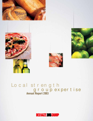Delhaize Group annual report 2003